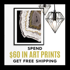 Spend $60 on Art Prints, get free shipping!