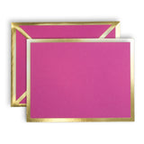 Blank Fuchsia Card & Envelope
