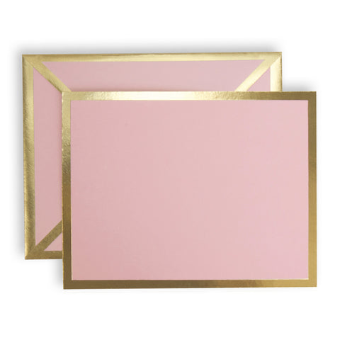 Blank Pink Card