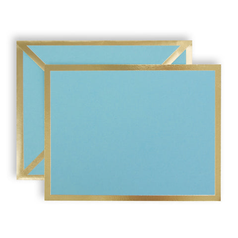 Blank Turquoise Card