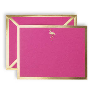 Flamingo Fuchsia Card