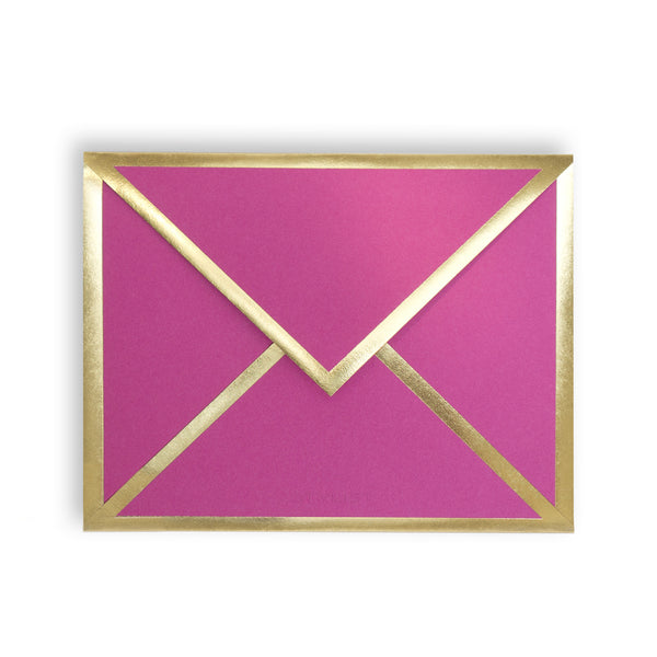 With Love Fuchsia Card & Envelope