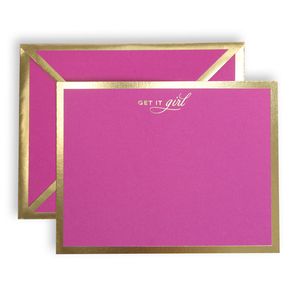 Get It Girl Fuchsia Card
