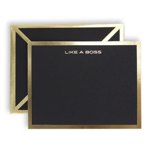 Like A Boss Black Card