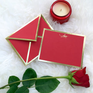 Lover Red Card & Envelope