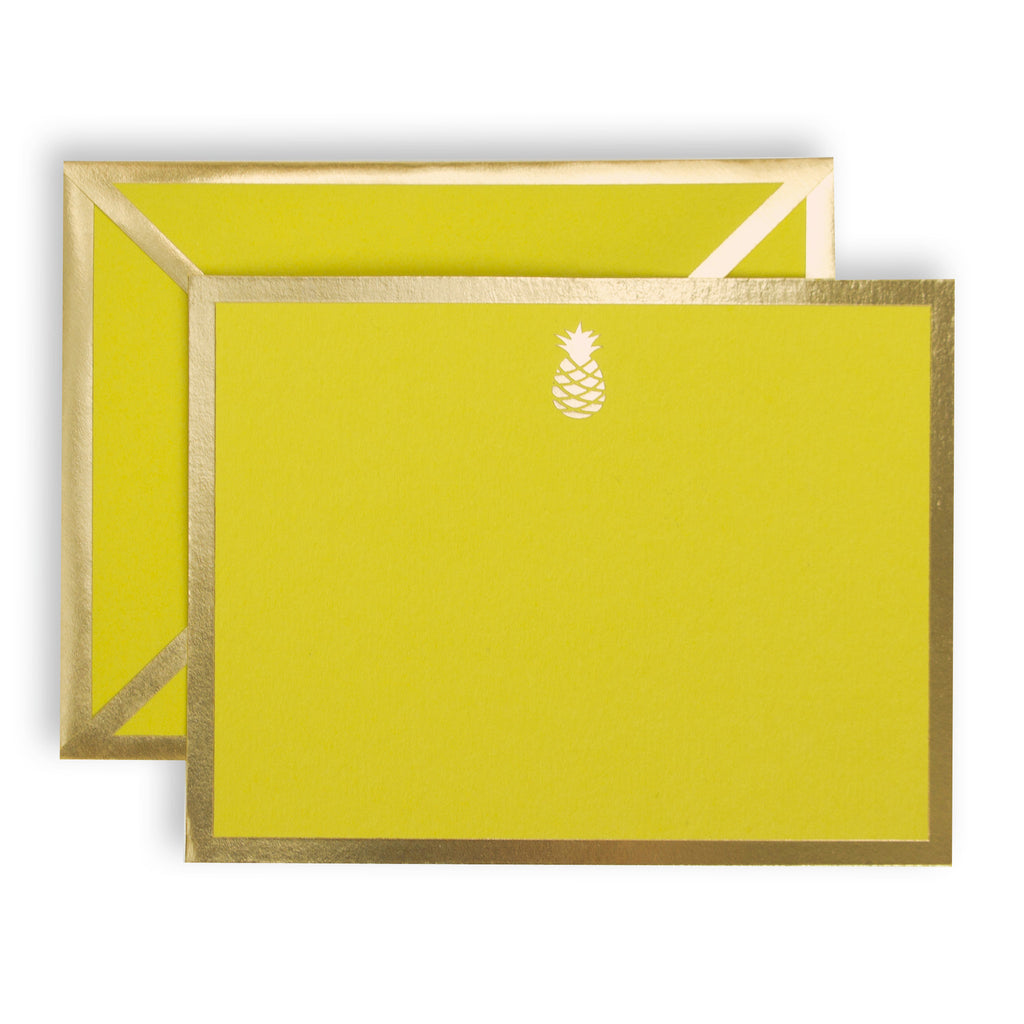 Pineapple Yellow Card