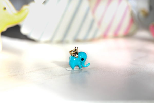 Candy Pop Elephant Necklace