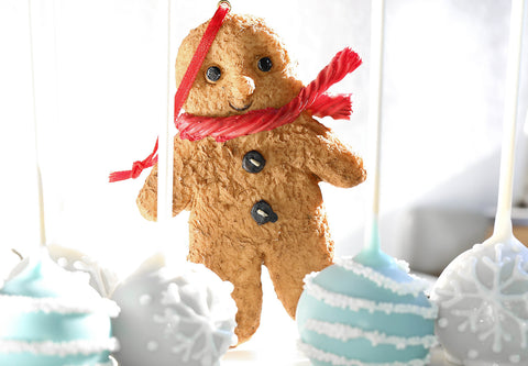 Gingy the Christmas Ornament