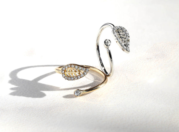 Celicia Leaf Ring