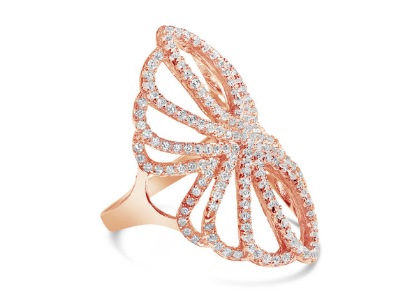 Selio Elsker Pave Ring