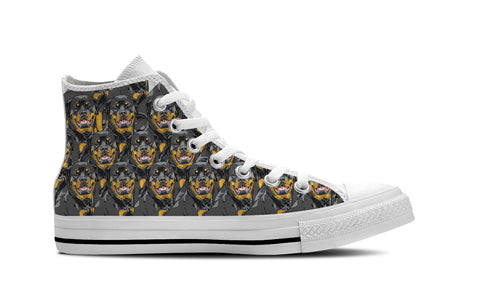 Rottweiler High Top Shoes