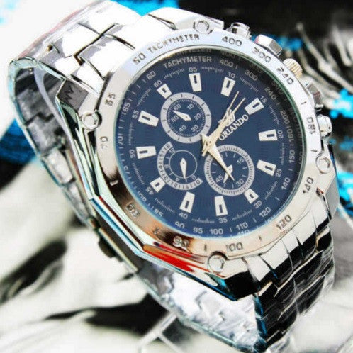 Orlando Stainless Steel Watch - topnotchloot  - 1