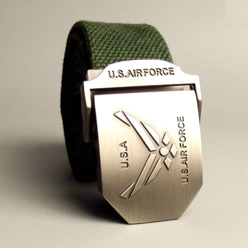 U.S. Air Force Canvas Belt - topnotchloot  - 1