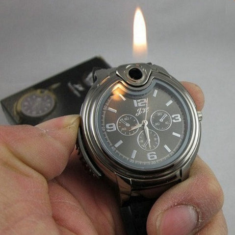 Men's Refillable Lighter Watch - topnotchloot  - 1