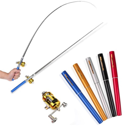 Alloy Pen-Shaped Fishing Rod