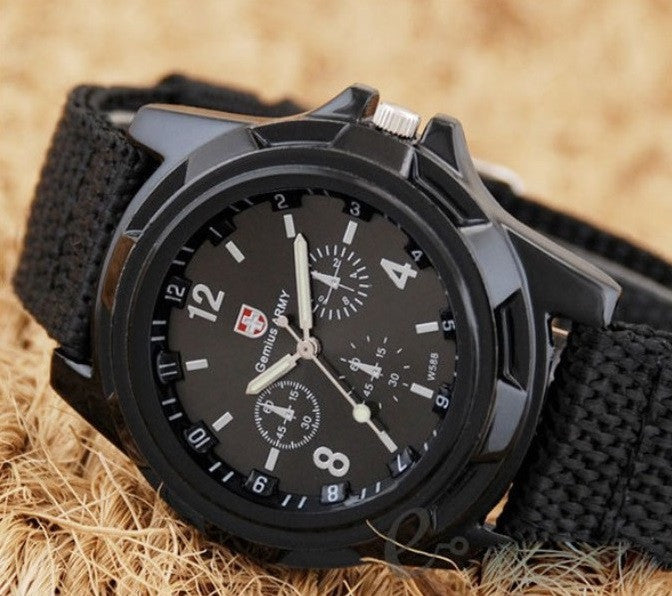 Gemius Military Canvas Watch - topnotchloot  - 1
