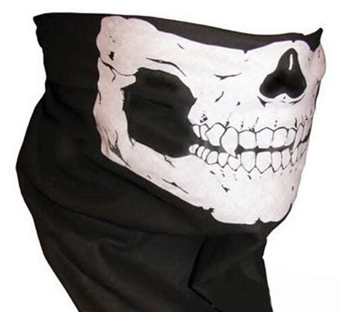 Skeleton Face Scarf - topnotchloot  - 2