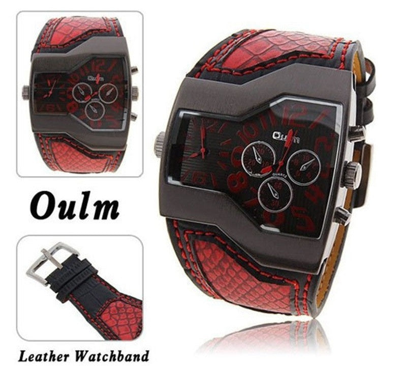 Double Time Snake Band Casual Men's Sports Watch - topnotchloot  - 2