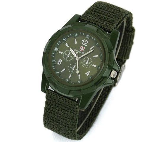 Gemius Military Canvas Watch - topnotchloot  - 2