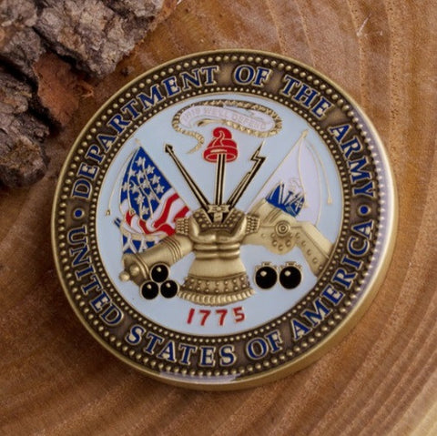 Proud Army Father Challenge Coin - topnotchloot  - 2