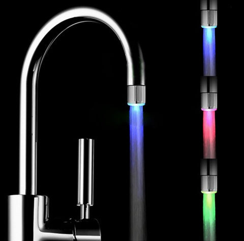 7 Color Changing Water Faucet LED