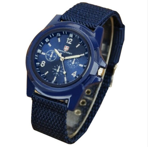 Gemius Military Canvas Watch - topnotchloot  - 3