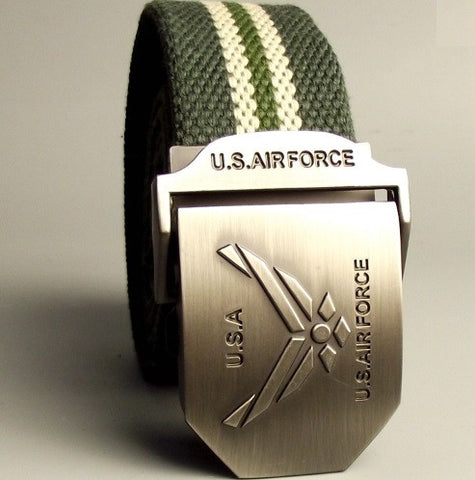 U.S. Air Force Canvas Belt - topnotchloot  - 3