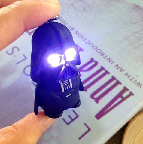 Darth Vader LED Flashlight Keychain - topnotchloot  - 2