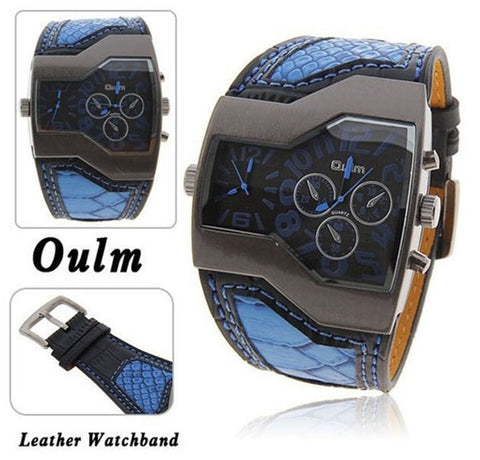 Double Time Snake Band Casual Men's Sports Watch - topnotchloot  - 5