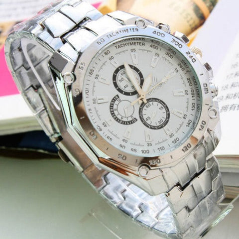 Orlando Stainless Steel Watch - topnotchloot  - 2
