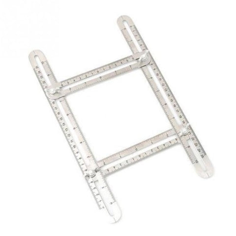 Stainless Steel Multi-Angle Ruler
