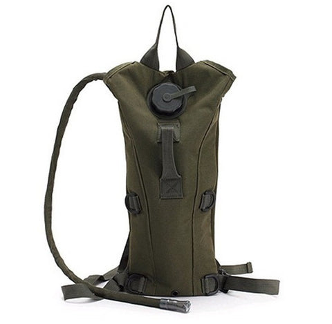 Canvas Water Bladder Rucksack - topnotchloot  - 3