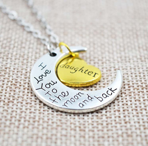 I Love You To The Moon And Back Necklace - topnotchloot  - 5
