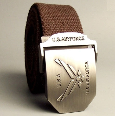 U.S. Air Force Canvas Belt - topnotchloot  - 2