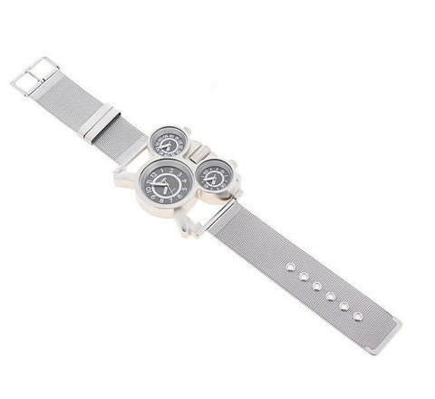 OULM Men's Multi-Function Quartz Steel Watch - topnotchloot  - 4