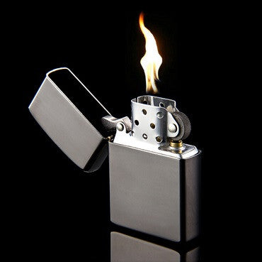Classic Polished Mirror Metal Kerosene Lighters