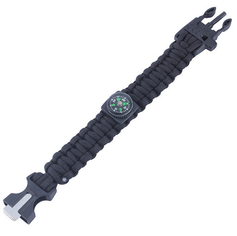 Paracord Survival Bracelet w/Compass - topnotchloot  - 4