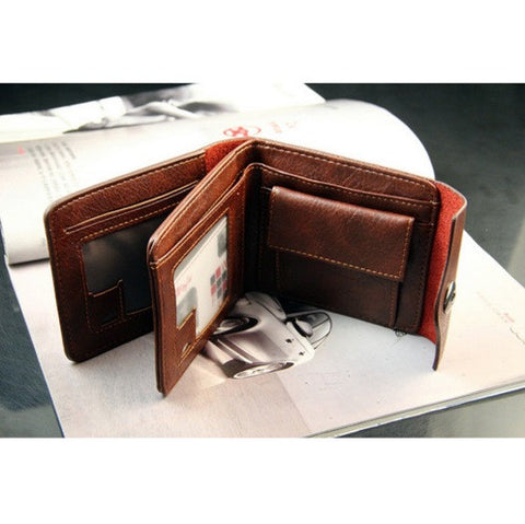 Men's Leather WOBU Wallet - topnotchloot  - 3