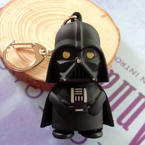Darth Vader LED Flashlight Keychain - topnotchloot  - 1