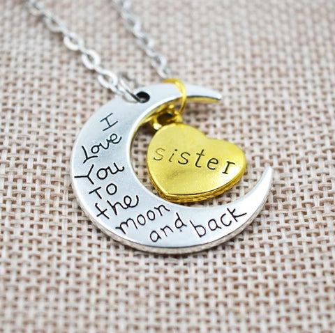 I Love You To The Moon And Back Necklace - topnotchloot  - 3