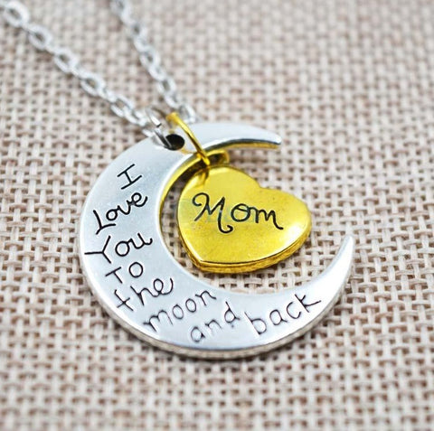 I Love You To The Moon And Back Necklace - topnotchloot  - 1
