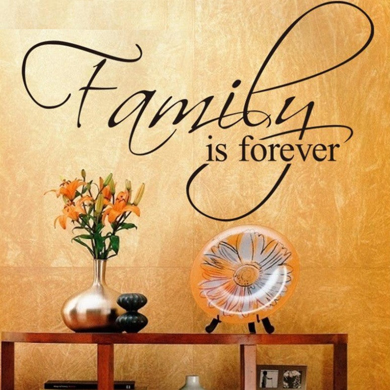 Family Is Forever Wallsticker - topnotchloot