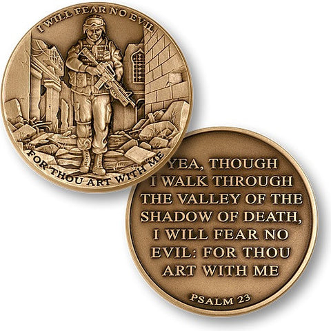 I Will Fear No Evil Coin