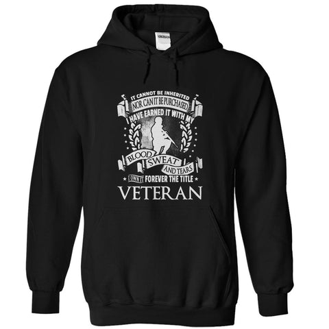 Forever the Title Veteran - T-Shirt - topnotchloot  - 3
