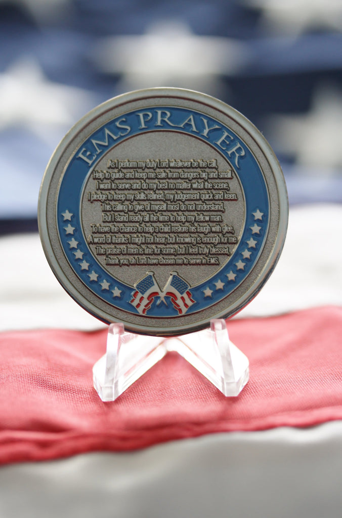 EMS Prayer Coin - topnotchloot  - 1
