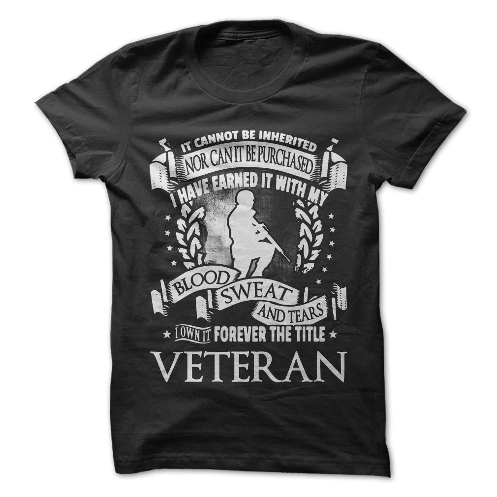 Forever the Title Veteran - T-Shirt - topnotchloot  - 1