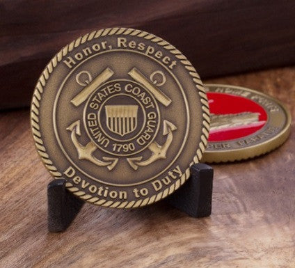 United States Coast Guard Devotion to Duty Challenge Coin - topnotchloot  - 2