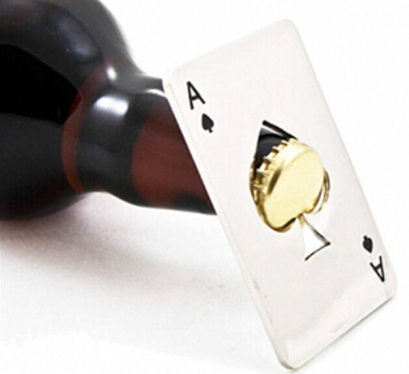 Ace of Spades Bottle Cap Opener - topnotchloot  - 3