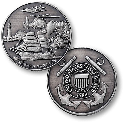 Coast Guard Semper Paratus Coin - topnotchloot