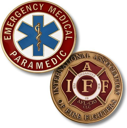 Emergency Medical Paramedic Coin - topnotchloot